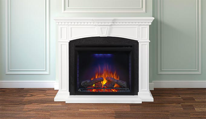 Electric Fireplaces Electric Fireplace Inserts Mantel Packages Tv Consoles Stoves More